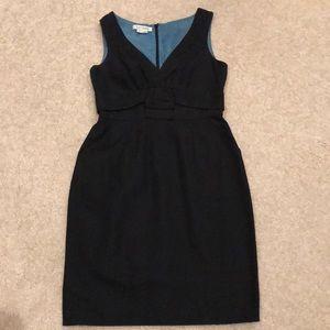 Kay Unger black dress
